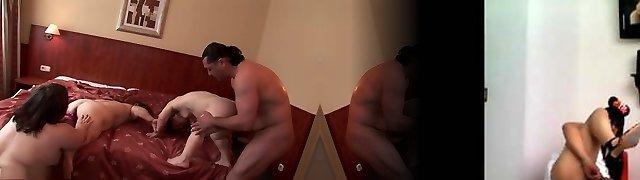 Mischievous superstars Duli Fuli and Gidget The Monster Midget in exotic fetish, bbw adult vignette