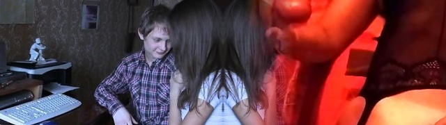 Our skillful teen chick does her finest to please her partner