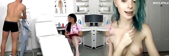 Czech nurse lady Marta old with youthfull hand-job