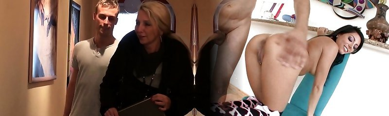 Young Stud Seduce German MILF Friend of Mother to Poke