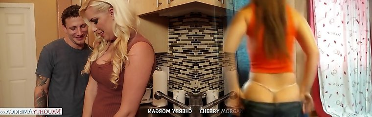Mind-blowing blondie Cherry Morgan gives oral fucky-fucky