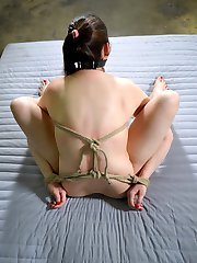 SD wants to watch Addie Juniper cum. She has her tied up because after a few orgasms her clit will be so sensitive she will beg to stop.