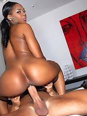 Smoking hot big black ass ebony babe nailed hard adjacent the couch hot screaming cum faced real amateur pics