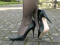 Whenever Iona appears on vid she always enjoys you to enjoy her boot by looking at it close up from every angle! This she says always gets a boy's fetish up that will complete you off and vibrate your dream all over again