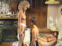 Amber Lynn in classic sex video