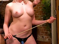 Gorgeous blonde dominatrix Lorelei Lee teases you with her beautiful tits, wet pussy and sexy...