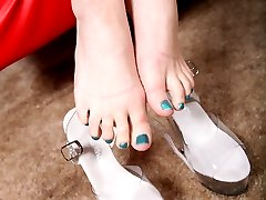 Black Meat White Feet - Interacial Foot Fetish Videos