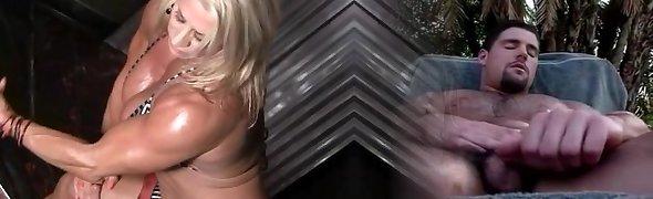 Naughty scene girlfriends teasing on cam