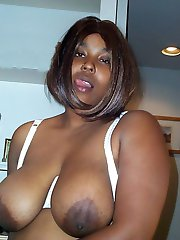 Baby Love is sitting around waiting to show off her big beautiful knockers. Cum see her get...
