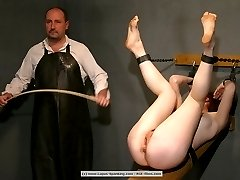 Caned in an uppermost inconvenient position