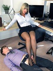 Office Boy Reprimand