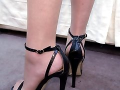 If you have a fetish for ladies heels you find that you are always looking at them because you...
