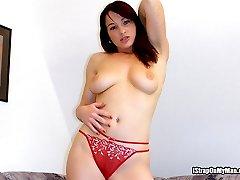 Slut Aggressively Bangs Her Mans Butt