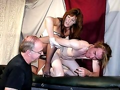 Maria and her cock loving men
