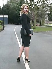 Jenny is a typical English lady, lovely pretty with a beautiful figure and gorgeous legs! She is one of those ladies who one expects to wear high heels and of course she always chooses the loveliest and most stylish high heels