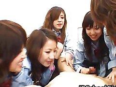 Asian schoolgirls are having a massive