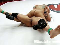 Today we have 3 of our best MILFS on the mat in a unique mini tournament. Dragon Lily is Back on...
