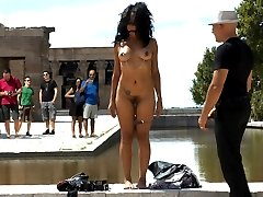 Everyones favorite Spanish hottie, Dunia Montenegro, returns to the streets for public sex,...