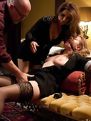 Lizzy London is caught steeling and must pay the consequences through punishment and bondage sex...
