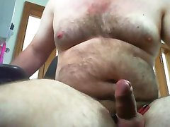 Aussie Daddy jerking his thick cock