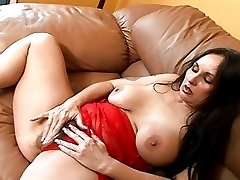 Elisa Plays With Her Hairy Cunt Then Gets Fucked