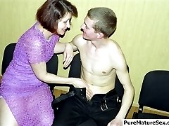Old cunt fucked by a youngster
