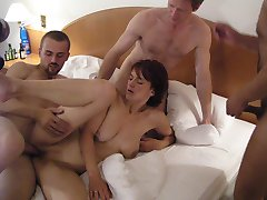 Swapping partners makes their sexual life wilder. Horny amateur swingers are having fun at nature. They like to play dirty games and they adore swapping their partners. Being fucked rudely is the nest pleasure for them.