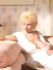Vintage busty Lulu Devine having sex