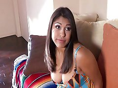 Latina: Hairy Pussy Banged