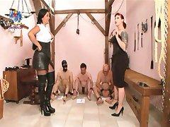 3 Slaves Humiliated!!!