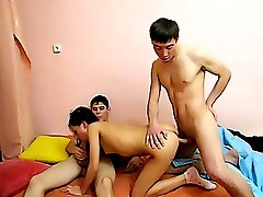 Hot teen threesome sex
