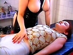 Busty redhead plays rough with sweet innocent redhead