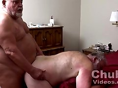 Pumping Up Big Daddies Big Thick Cock