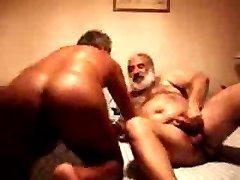 Daddy rides a cock