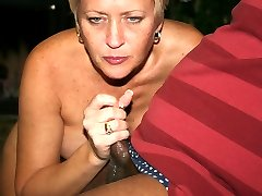 """Tracy gets a little taste of holiday """"Jizznog"""""""