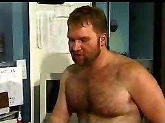 Bear fuck a guy at work