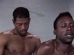 20'' black vs white man