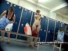 Sappy bitches flash their tits and ass cheeks in front of our locker room cams