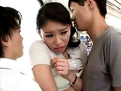 Kanon Takikawa Asian has tits touched and PublicSexJapan.com