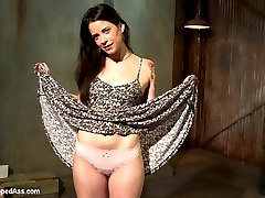 We welcome Freya French to Whipped Ass where she is molested and ass fucked by Lea Lexis in her kinky lesbian dungeon.