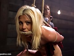 An article on lesbian sex positions inspires Bella Rossis sadistic lesbian fantasies as a casual...