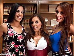 Lyla Storm and Deanna Dare are two naughty girls who get punished with extreme anal sex by Francesca Le and love every minute of it!  Spanking, strap-on, fisting, ass licking, depth probe, plug stretching and more!