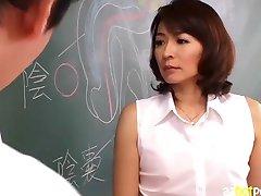 AzHotPorn.com - Teacher Gives Sex Lesson Through Fisting