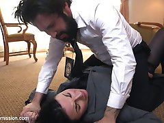 Sexy FBI agent Veruca James is caught up in some dirty business with the Russian mafia. When she tries to drug her partner Tommy Pistol things do not go as planned and Tommy goes capital R Rogue on her tight little rookie ass.  She was so close to being a