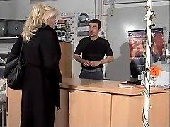 Die Chefin wird gefickt