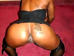 Ebony chick gets her poop hole dick drilled
