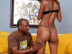 Watch this lithe black teen riding this guy039s cock in reverse cow girl
