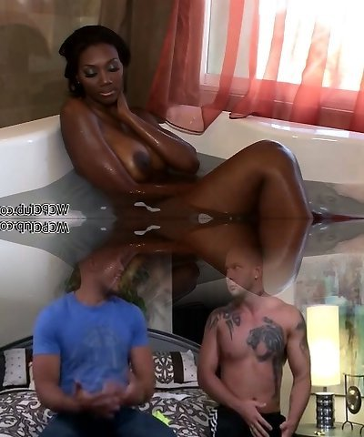 Natalia Spice gets caught undressing in her bathroom