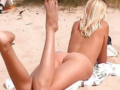 Nude Russian beach girls