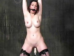 Brandy Bound And Fucked By Machine